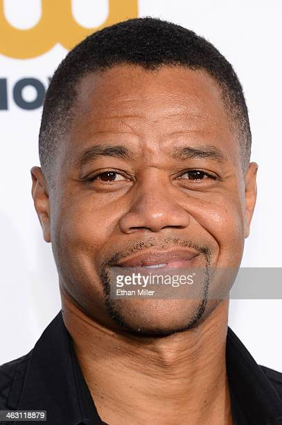 Actor Cuba Gooding Jr attends the 19th Annual Critics' Choice Movie Awards at Barker Hangar on January 16 2014 in Santa Monica California