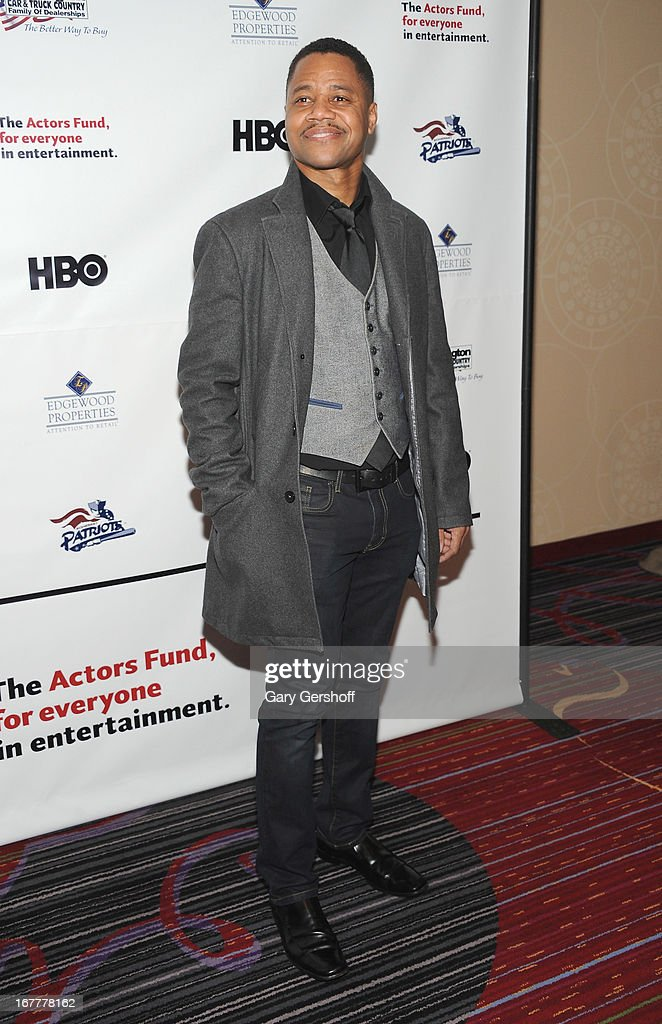 Actor Cuba Gooding Jr. attends the 2013 Actors Fund Gala at the Marriott Marquis Hotel on April 29, 2013 in New York City.