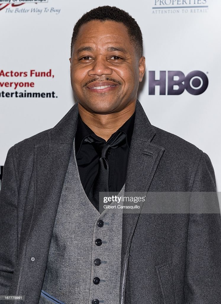 Actor Cuba Gooding Jr. attends the 2013 Actors Fund's Annual Gala Honoring Robert De Niro at The New York Marriott Marquis on April 29, 2013 in New York City.