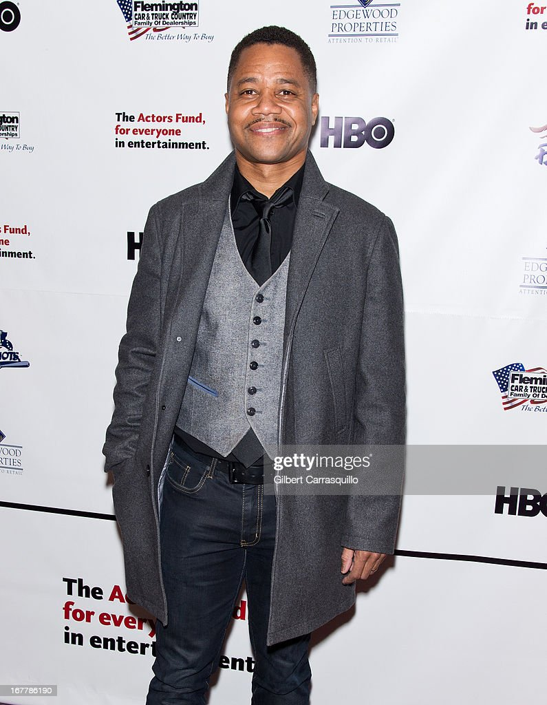 Actor Cuba Gooding, Jr. attends the 2013 Actors Fund's Annual Gala Honoring Robert De Niro at The New York Marriott Marquis on April 29, 2013 in New York City.