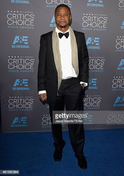 Actor Cuba Gooding Jr attends the 20th annual Critics' Choice Movie Awards at the Hollywood Palladium on January 15 2015 in Los Angeles California