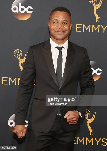 Actor Cuba Gooding Jr attends the 68th Annual Primetime Emmy Awards at Microsoft Theater on September 18 2016 in Los Angeles California