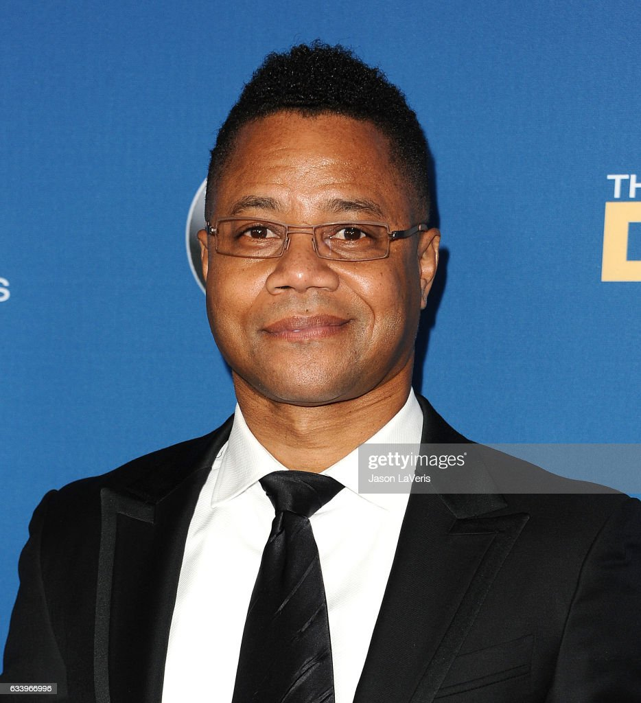 Actor Cuba Gooding Jr. attends the 69th annual Directors Guild of America Awards at The Beverly Hilton Hotel on February 4, 2017 in Beverly Hills, California.