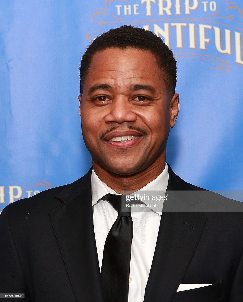 Actor Cuba Gooding Jr attends the after party for the Broadway opening night of 'The Trip To Bountiful' at Copacabana on April 23, 2013 in New York City.
