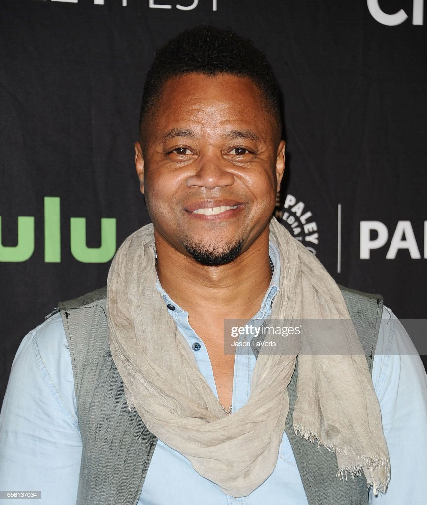 Actor Cuba Gooding Jr. attends the 'American Horror Story: Roanoke' event at the Paley Center for Media's 34th annual PaleyFest at Dolby Theatre on March 26, 2017 in Hollywood, California.