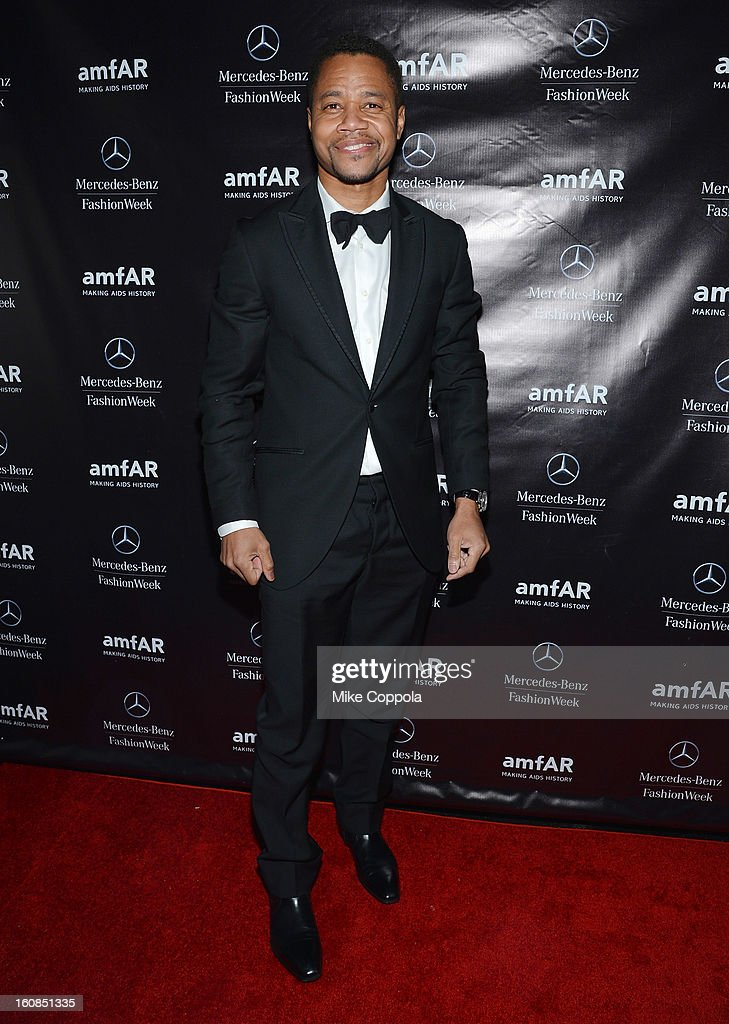 Actor <a gi-track='captionPersonalityLinkClicked' href=/galleries/search?phrase=Cuba+Gooding+Jr.&family=editorial&specificpeople=208232 ng-click='$event.stopPropagation()'>Cuba Gooding Jr.</a> attends the amfAR Gala after party in celebration of Mercedes-Benz Fashion Week at SL on February 6, 2013 in New York City.