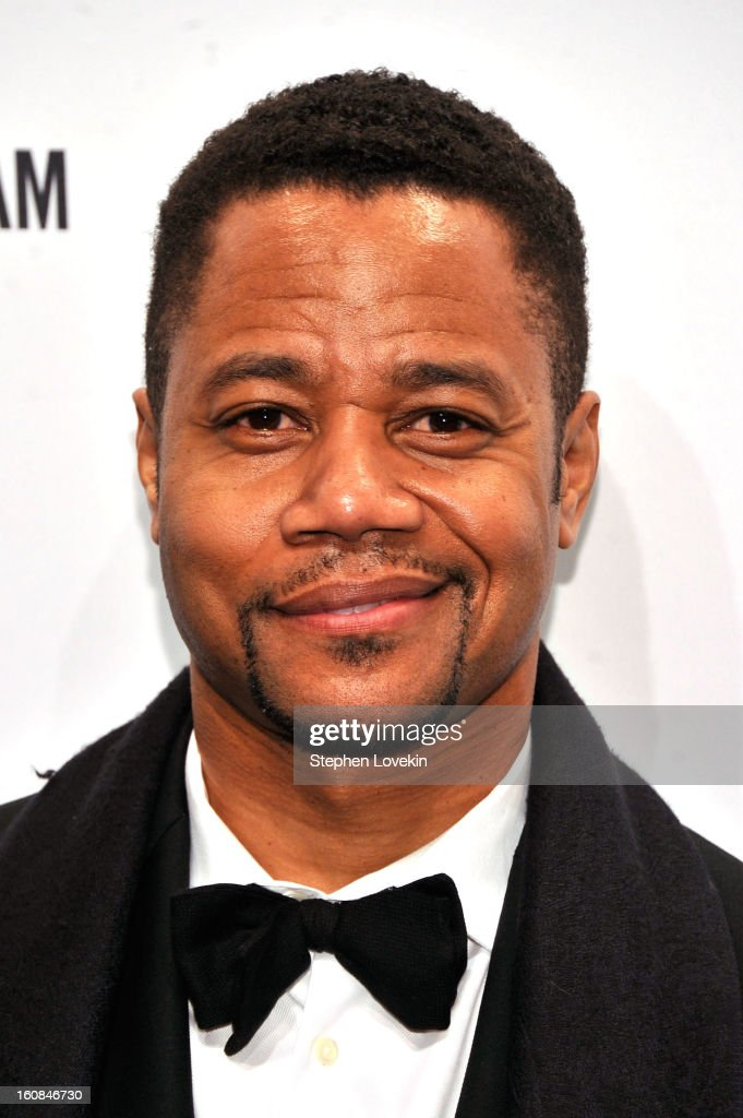 Actor Cuba Gooding, Jr. attends the amfAR New York Gala to kick off Fall 2013 Fashion Week at Cipriani Wall Street on February 6, 2013 in New York City.