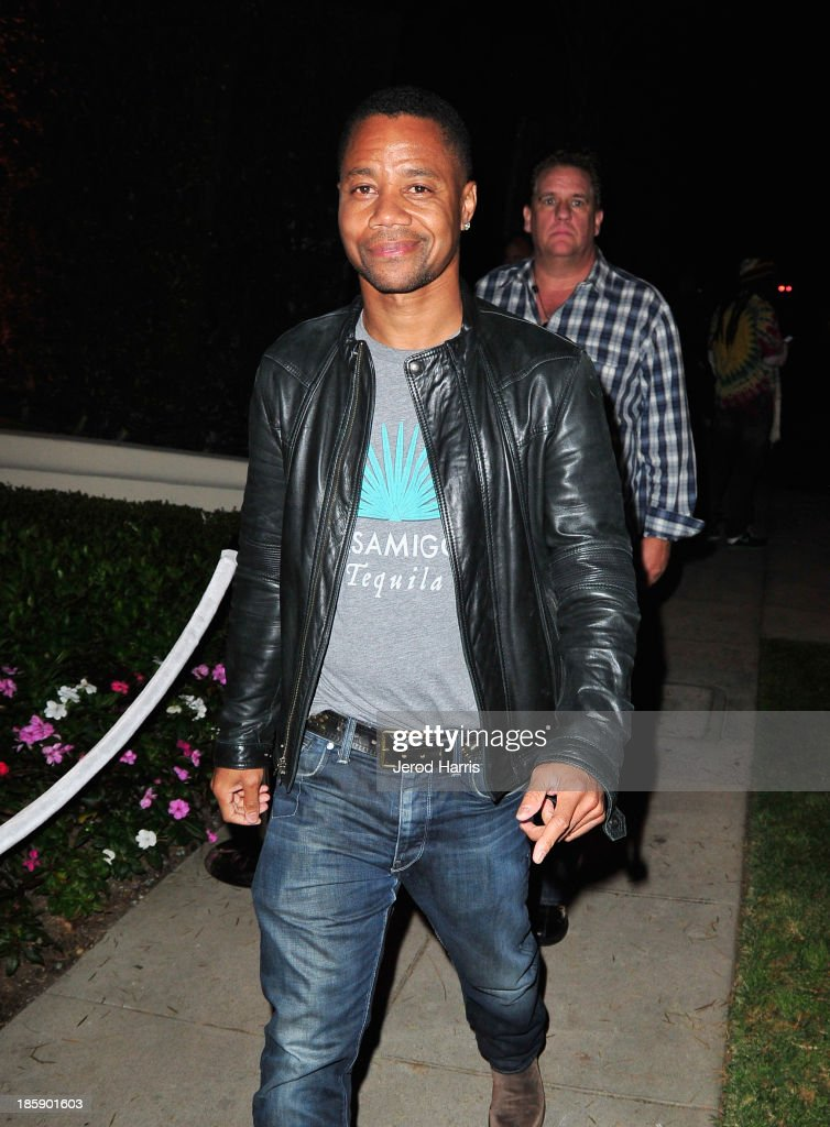 Actor <a gi-track='captionPersonalityLinkClicked' href=/galleries/search?phrase=Cuba+Gooding+Jr.&family=editorial&specificpeople=208232 ng-click='$event.stopPropagation()'>Cuba Gooding Jr.</a> attends the Casamigos Halloween Party at the home of Mike Meldman on October 25, 2013 in Beverly Hills, California.