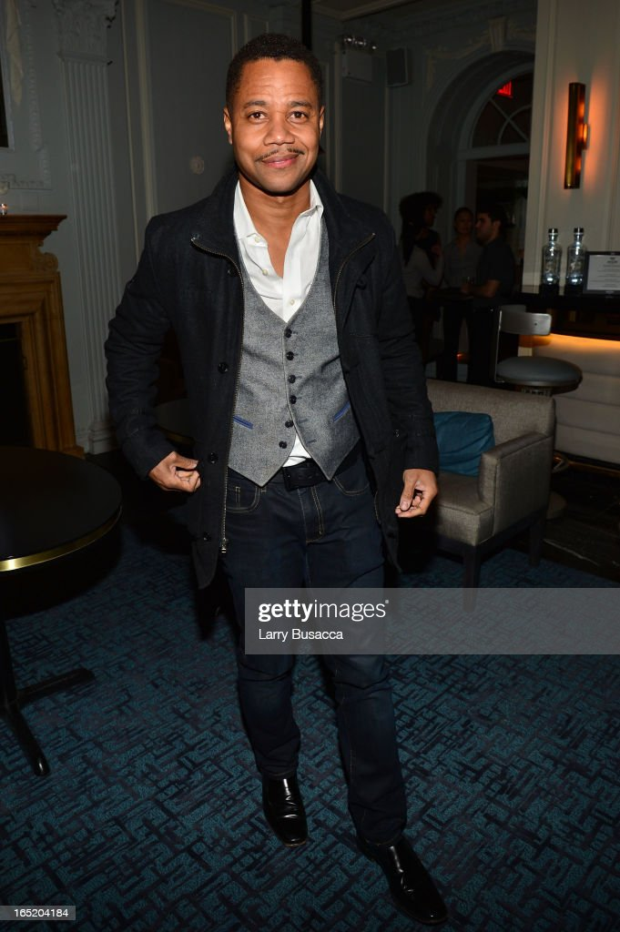 Actor Cuba Gooding, Jr. attends 'The Company You Keep' New York Premiere After Party at Harlow on April 1, 2013 in New York City.