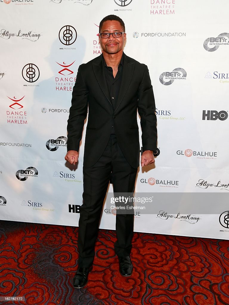 Actor Cuba Gooding Jr. attends the Dance Theatre Of Harlem 44th Anniversary Celebration at the Mandarin Oriental Hotel on February 26, 2013 in New York City.