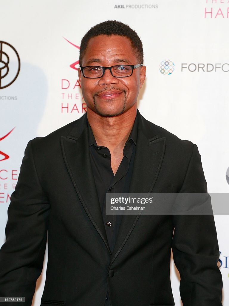 Actor <a gi-track='captionPersonalityLinkClicked' href=/galleries/search?phrase=Cuba+Gooding+Jr.&family=editorial&specificpeople=208232 ng-click='$event.stopPropagation()'>Cuba Gooding Jr.</a> attends the Dance Theatre Of Harlem 44th Anniversary Celebration at the Mandarin Oriental Hotel on February 26, 2013 in New York City.