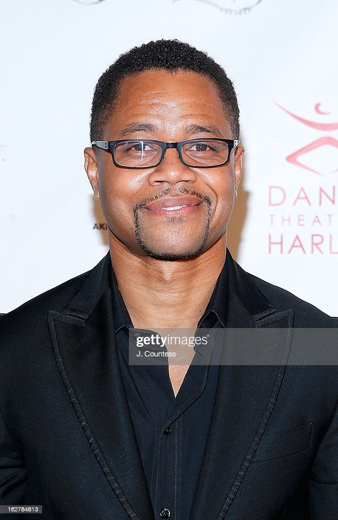 Actor <a gi-track='captionPersonalityLinkClicked' href=/galleries/search?phrase=Cuba+Gooding+Jr.&family=editorial&specificpeople=208232 ng-click='$event.stopPropagation()'>Cuba Gooding Jr.</a> attends the Dance Theatre Of Harlem's 44th Anniversary Celebration at Mandarin Oriental Hotel on February 26, 2013 in New York City.