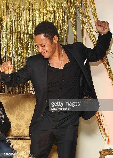 Actor Cuba Gooding Jr attends the ELLE Style Awards 2012 party at The Savoy Hotel on February 13 2012 in London England