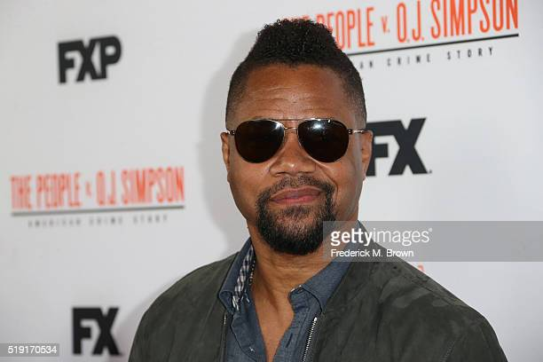 Actor Cuba Gooding Jr attends the FX's For Your Consideration Event for 'The People v OJ Simpson American Crime Story' at The Theatre at Ace Hotel on...