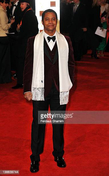 Actor Cuba Gooding Jr attends the Orange British Academy Film Awards 2012 at the Royal Opera House on February 12 2012 in London England