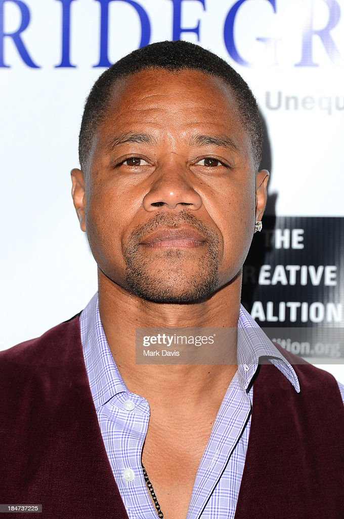 Actor Cuba Gooding, Jr. attends the premiere of 'Bridegroom' held at the AMPAS Samuel Goldwyn Theater on October 15, 2013 in Beverly Hills, California.