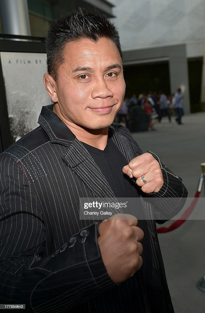 Actor <a gi-track='captionPersonalityLinkClicked' href=/galleries/search?phrase=Cung+Le&family=editorial&specificpeople=5043457 ng-click='$event.stopPropagation()'>Cung Le</a> arrives at a screening of The Weinstein Company And Annapurna Pictures' 'The Grandmaster' at the Arclight Theatre on August 22, 2013 in Los Angeles, California.