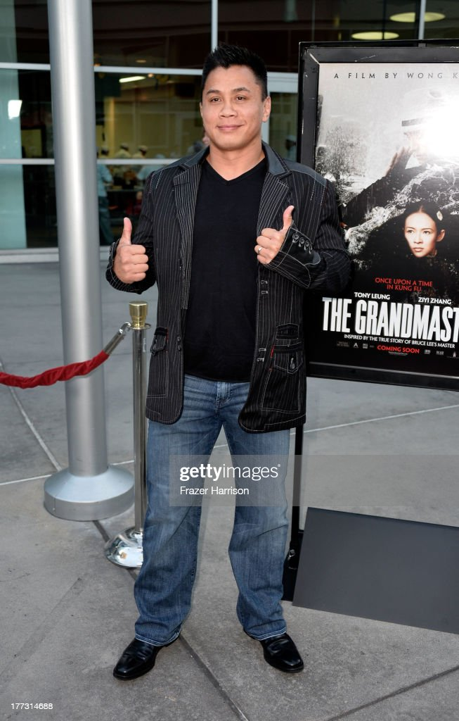 Actor <a gi-track='captionPersonalityLinkClicked' href=/galleries/search?phrase=Cung+Le&family=editorial&specificpeople=5043457 ng-click='$event.stopPropagation()'>Cung Le</a> arrives at the Screening Of The Weinstein Company And Annapurna Pictures' 'The Grandmaster' - at ArcLight Cinemas on August 22, 2013 in Hollywood, California.