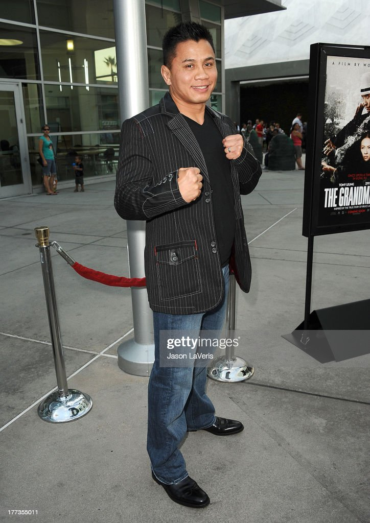 Actor Cung Le attends the premiere of 'The Grandmaster' at ArcLight Cinemas on August 22, 2013 in Hollywood, California.