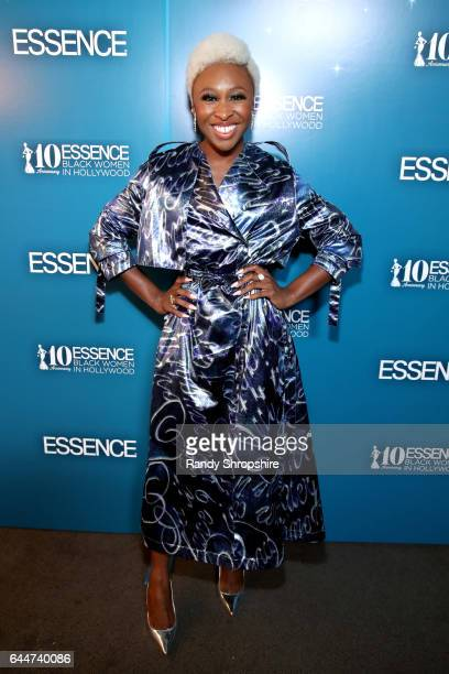 Actor Cynthia Erivo at Essence Black Women in Hollywood Awards at the Beverly Wilshire Four Seasons Hotel on February 23 2017 in Beverly Hills...