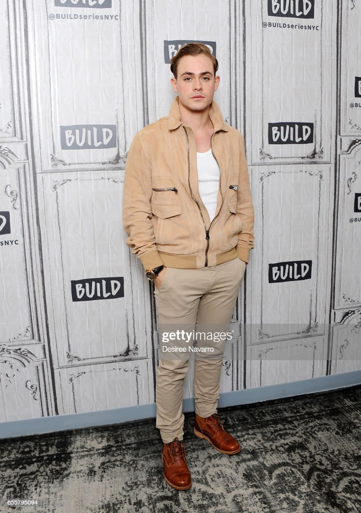Actor Dacre Montgomery attends Build Series to discuss 'Power Rangers' at Build Studio on March 20, 2017 in New York City.