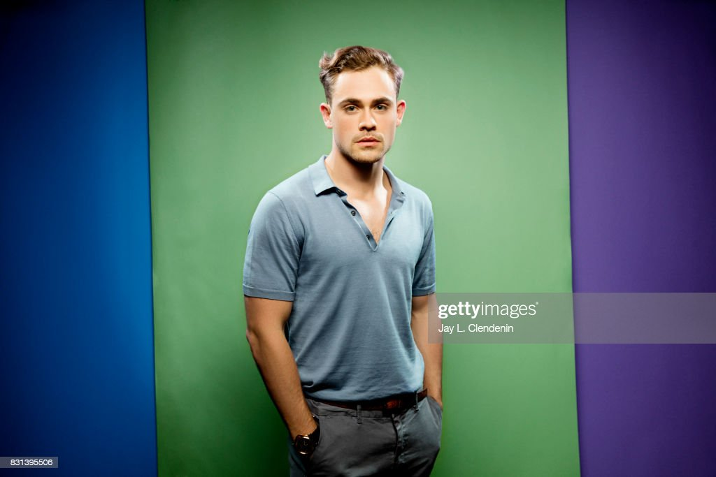 Actor Dacre Montgomery, from the television series 'Stranger Things,' is photographed in the L.A. Times photo studio at Comic-Con 2017, in San Diego, CA on July 22, 2017.