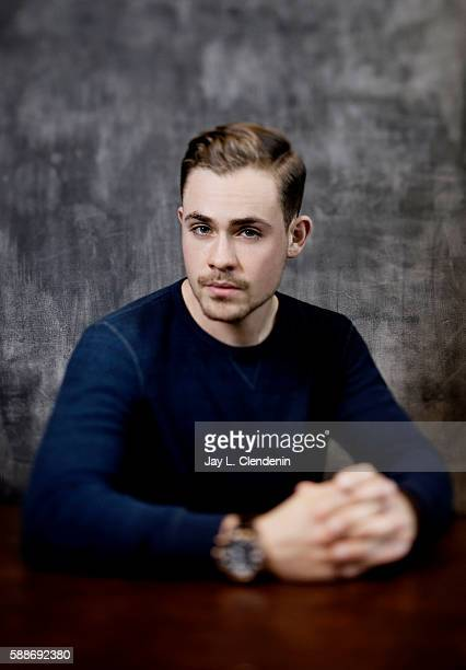 Actor Dacre Montgomery of 'Power Rangers' is photographed for Los Angeles Times at San Diego Comic Con on July 22 2016 in San Diego California