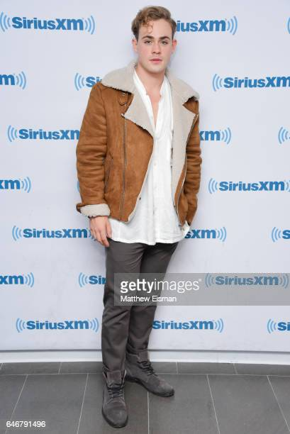 Actor Dacre Montgomery of the new film 'Power Rangers' visits at SiriusXM Studios on March 1 2017 in New York City