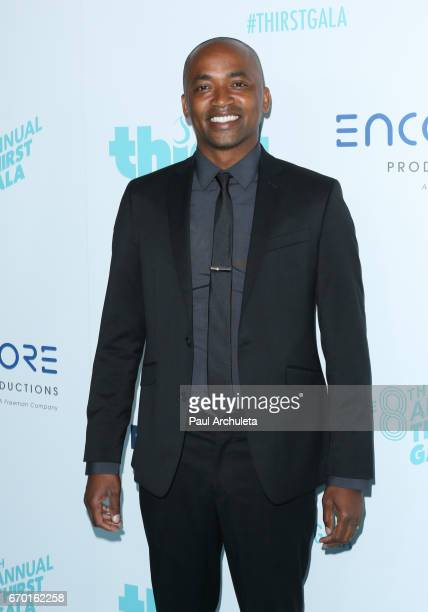 Actor DaJuan Johnson attends the 8th annual Thirst Gala at The Beverly Hilton Hotel on April 18 2017 in Beverly Hills California