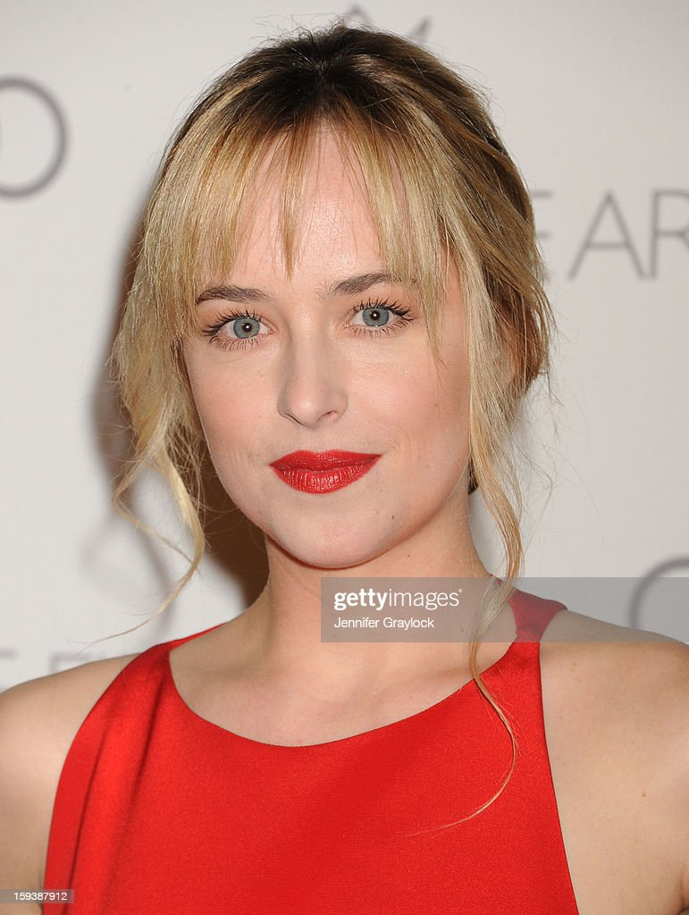 Actor Dakota Johnson attends the Art Of Elysium's 6th Annual Heaven Gala held at the 2nd Street Tunnel on Saturday, January 12, 2013 in Los Angeles, California.
