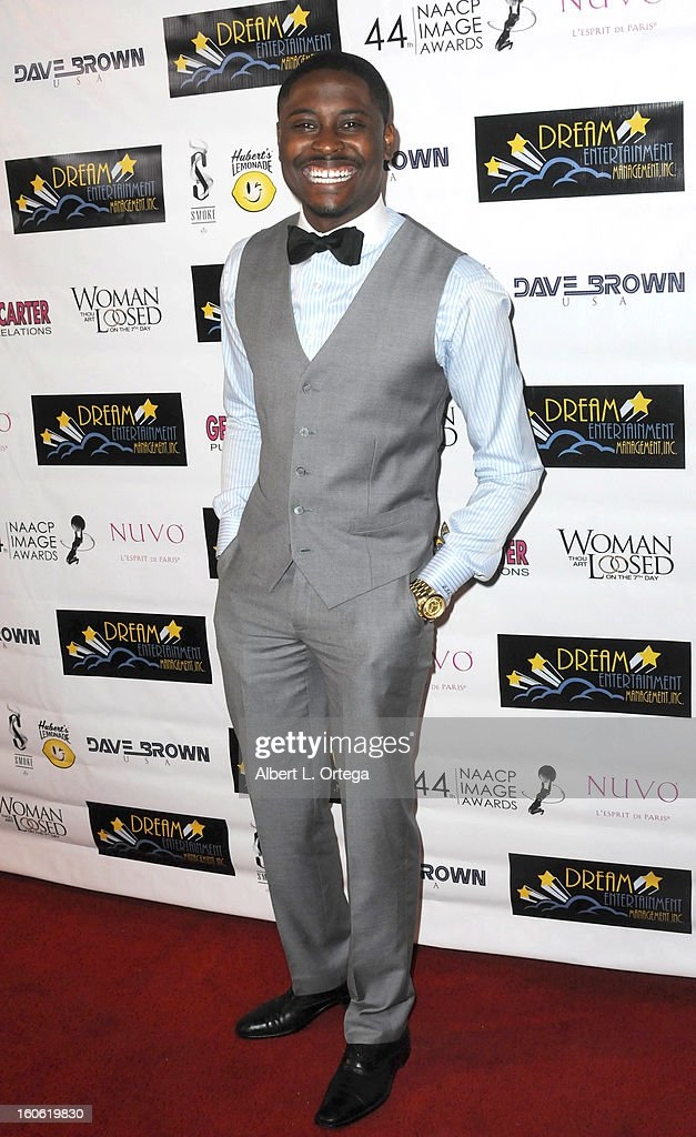Actor Dalen Spratt arrives for the NAACP Image Awards Nomination Party featuring 'Woman Thou Art Loosed On THe 7th Day' for Best Independent Motion Picture held at Smoke on January 26, 2013 in West Hollywood, California.