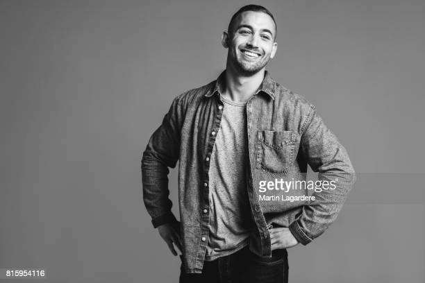 Actor Dali Benssalah is photographed for Self Assignment on June 9 2017 in Paris France