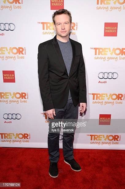 Actor Dallas Roberts arrives for The Trevor Project's 2013 'TrevorLIVE' Event Honoring Cindy Hensley McCain at Chelsea Piers on June 17 2013 in New...