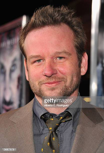 Actor Dallas Roberts arrives to the premiere of Open Road Films' 'The Grey' on January 11 2012 in Los Angeles California