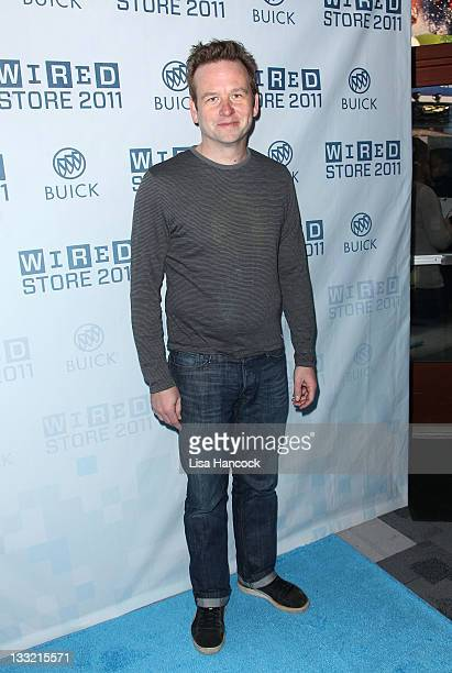 Actor Dallas Roberts attends the 2011 Wired Store opening night party on November 17 2011 in New York City