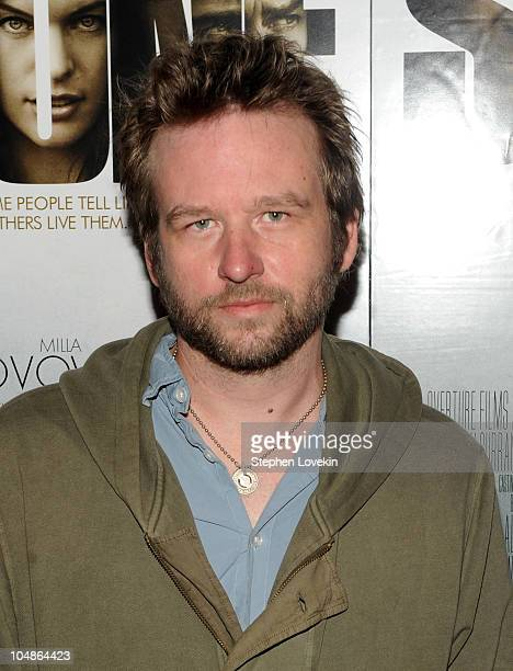 Actor Dallas Roberts attends the New York Premiere of 'Stone'at MOMA on October 5 2010 in New York City