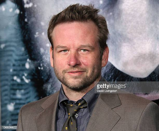 Actor Dallas Roberts attends the premiere of Open Road's 'The Grey' at Regal Cinemas LA LIVE on January 11 2012 in Los Angeles California