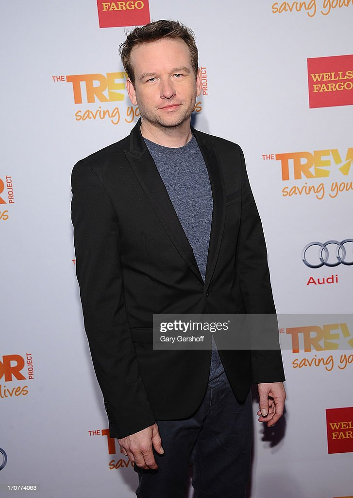 Actor <a gi-track='captionPersonalityLinkClicked' href=/galleries/search?phrase=Dallas+Roberts&family=editorial&specificpeople=220752 ng-click='$event.stopPropagation()'>Dallas Roberts</a> attends TrevorLIVE New York at Pier Sixty at Chelsea Piers on June 17, 2013 in New York City.