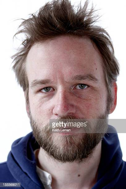 Actor Dallas Roberts poses for a portrait during the 2009 Sundance Film Festival held at the Stella Artois Lounge on January 22 2009 in Park City Utah