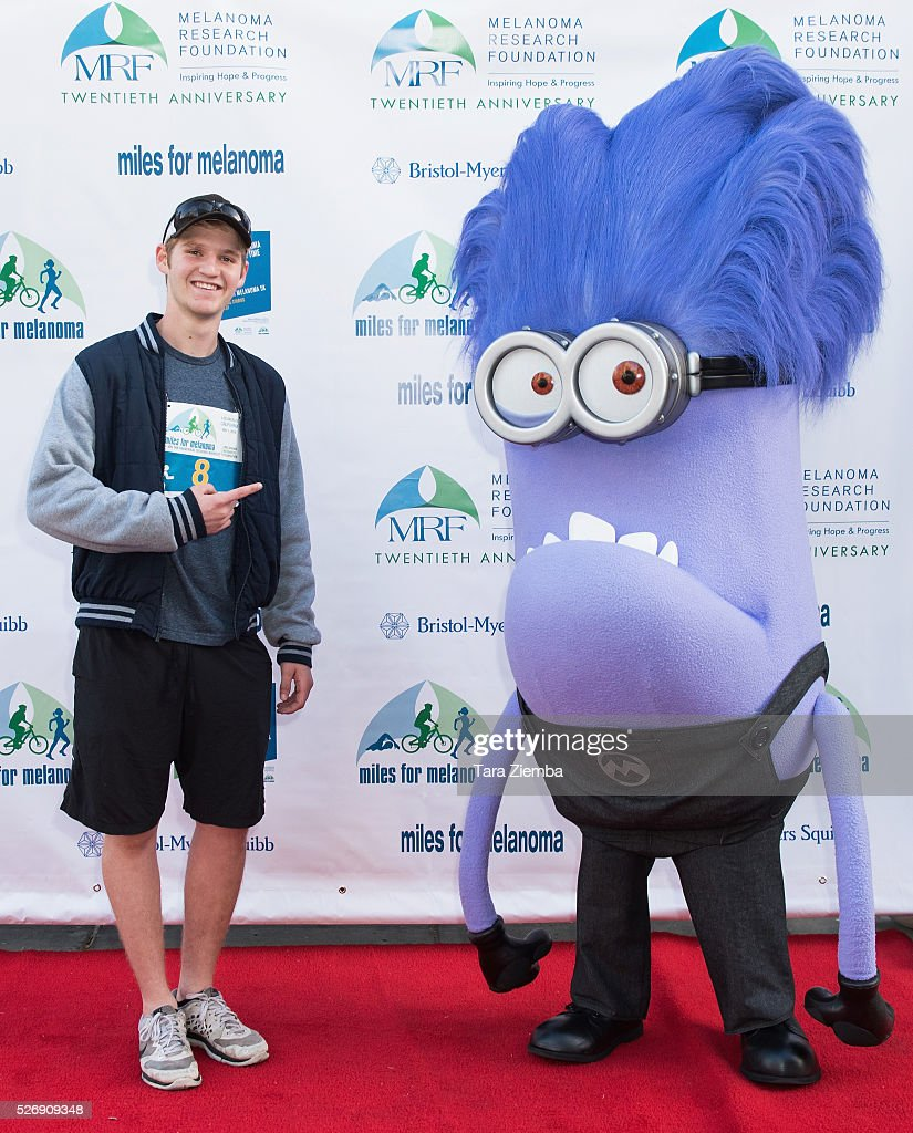 Actor Dalton Gray attends the Melanoma Research Foundation's Miles for Melanoma 5K Run/Walk at Universal Studios Backlot on May 1, 2016 in Universal City, California.