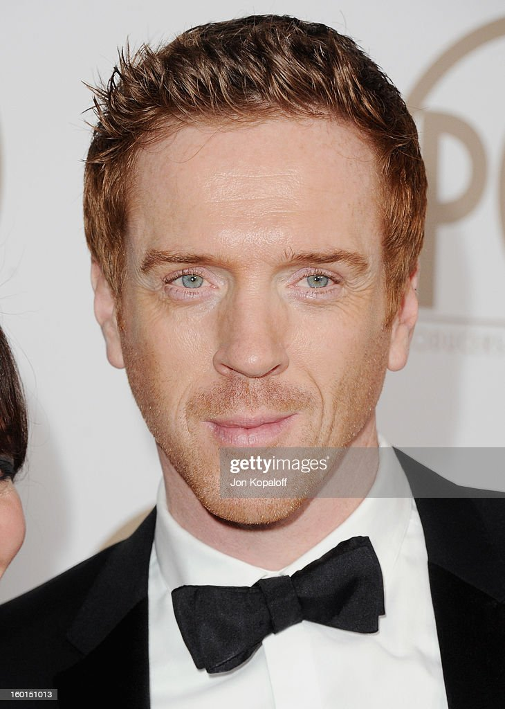 Actor Damian Lewis arrives at the 24th Annual Producers Guild Awards at The Beverly Hilton Hotel on January 26, 2013 in Beverly Hills, California.