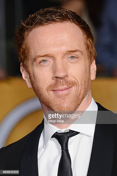 Actor Damian Lewis attends the 20th Annual Screen Actors Guild Awards at The Shrine Auditorium on January 18 2014 in Los Angeles California