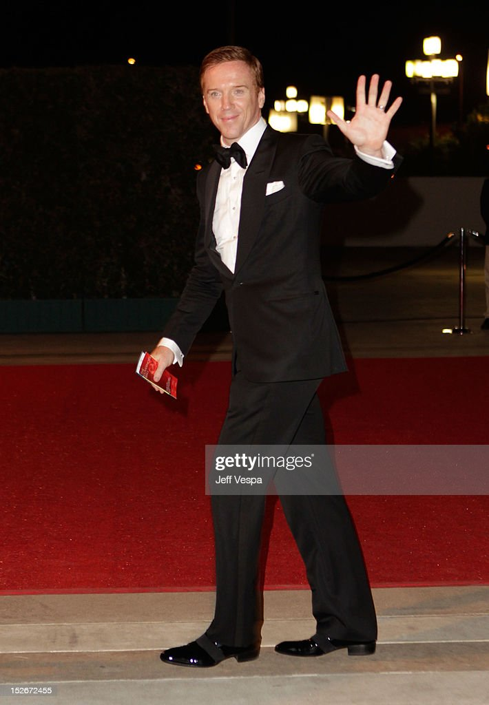Actor <a gi-track='captionPersonalityLinkClicked' href=/galleries/search?phrase=Damian+Lewis&family=editorial&specificpeople=206939 ng-click='$event.stopPropagation()'>Damian Lewis</a> attends the 64th Primetime Emmy Awards Governors Ball at Los Angeles Convention Center on September 23, 2012 in Los Angeles, California.