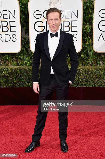 Actor Damian Lewis attends the 73rd Annual Golden Globe Awards held at the Beverly Hilton Hotel on January 10 2016 in Beverly Hills California