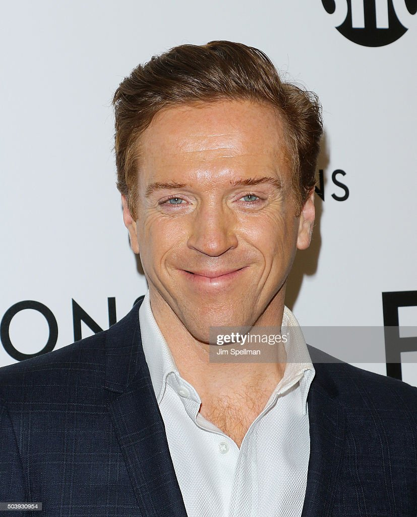 Actor Damian Lewis attends the 'Billions' series premiere at Museum of Modern Art on January 7, 2016 in New York City.