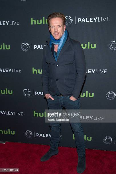 Actor Damian Lewis attends the Paley Live Sneak peek at 'Billions' Season Two plus discussion at Paley Center For Media on December 5 2016 in New...