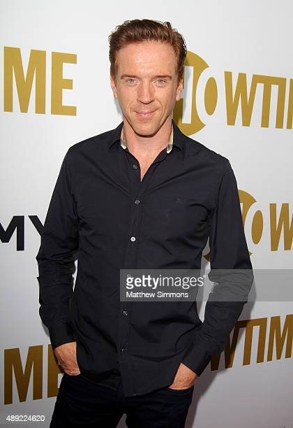 Actor Damian Lewis attends the Showtime 2015 Emmy Eve party at Sunset Tower Hotel on September 19 2015 in West Hollywood California