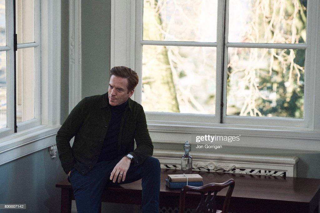 Damian Lewis, Mr Porter magazine UK, February 1, 2017 : News Photo