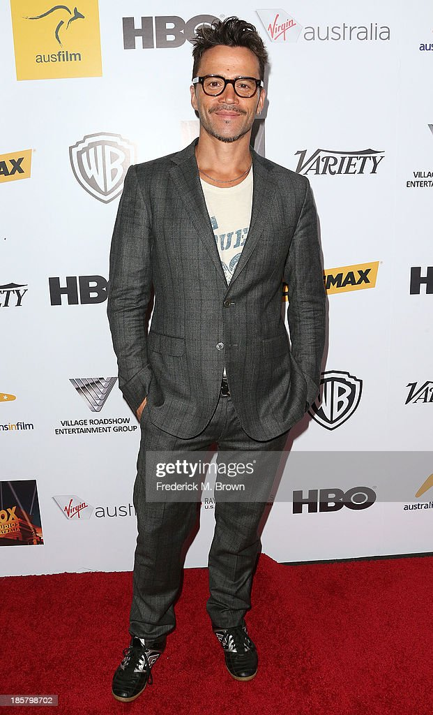 Actor Damian Walshe-Howling attends the Australians in Film Benefit Dinner at the at Intercontinental Hotel on October 24, 2013 in Beverly Hills, California.