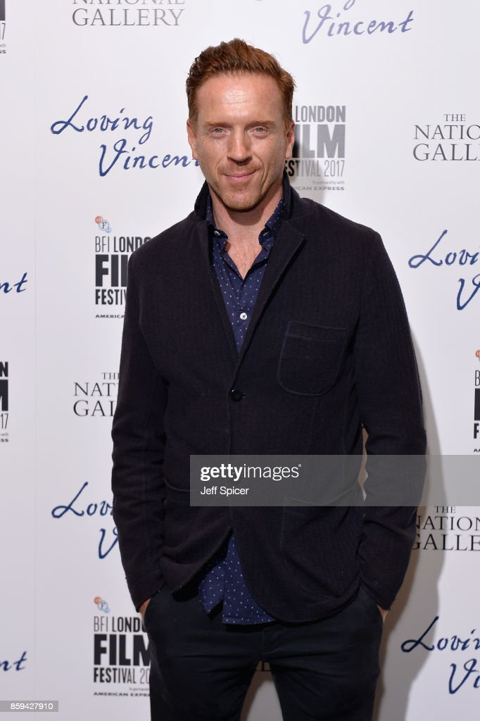 Actor Damien Lewis attends the UK Premiere of 'Loving Vincent' during the 61st BFI London Film Festival on October 9, 2017 in London, England.